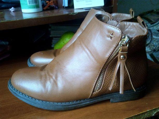 Осенние ботиночки 36 размер
