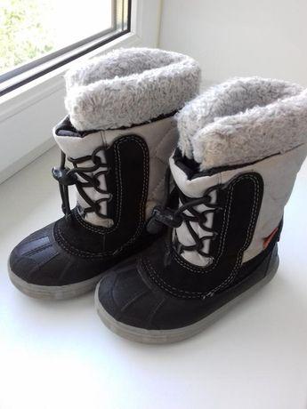 Детские зимние сапожки ботинки Demar 25р девочку мальчика зима (Польша