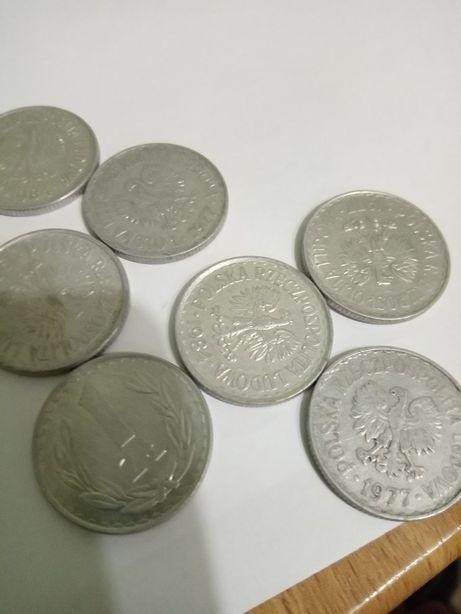 Монеты 1 Злотый,50 грошей 1973-1985гг.