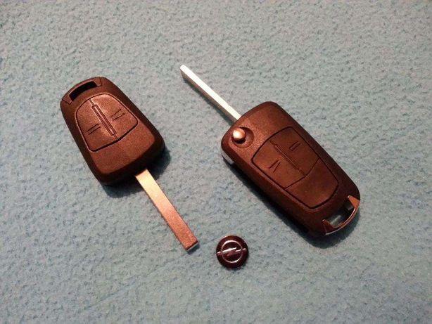 Carcaça capa comando chave opel corsa astra