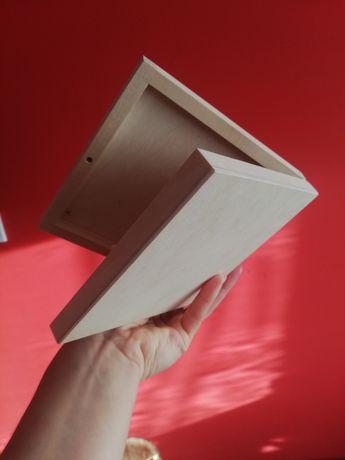 3 Kasetki na CD drewno do ozdabiania Decoupage