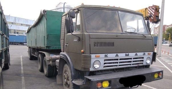 Продам сцепку КАМАЗ седельный тягач 1991г.+ полуприцеп зерновоз 5000$