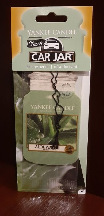 Zapach do samochodu/szafy Yankee Candle - Aloe Water (zawieszka)