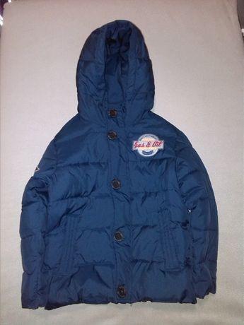 Куртка зимняя Benetton, на мальчика 5-6 лет.