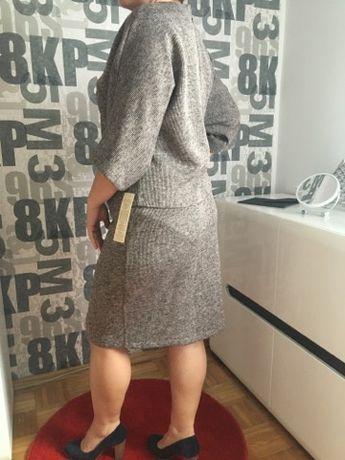 Komplet/zestaw spódnica plus bluzka