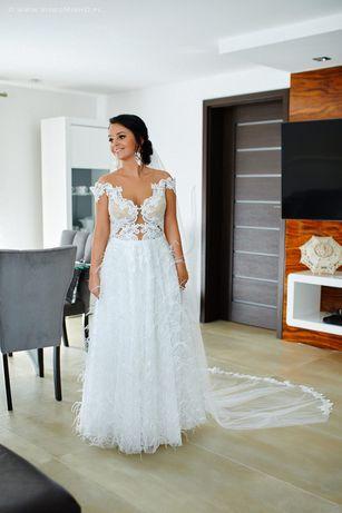 Suknia ślubna zakupiona w atelier Agnieszki Światły we Wrocławiu 2019