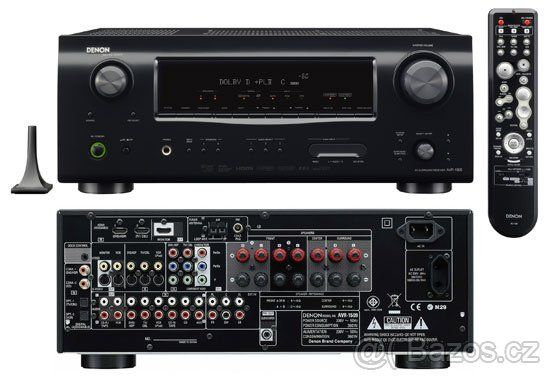Tanio. Amplituner Denon AVR-1509 + Odtwarzacz DVD-Audio Denon 1940