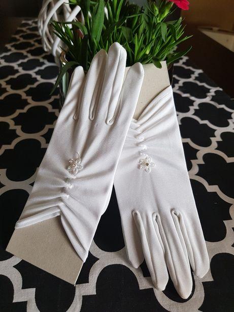 Rękawiczki białe jak nowe Boże ciało