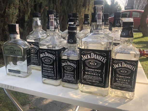 Butelki Jack Daniels 8szt 1.5l 0.7l 0.5l