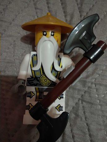 Минифигурка Лего, lego, minifig, мастер Ву, Джей, Ниндзяго, Ninjago