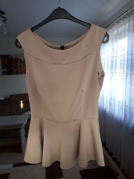 Elegancka bluzka z baskinka