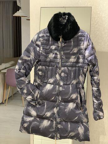 Пуховик куртка Armani и пальто Ferre