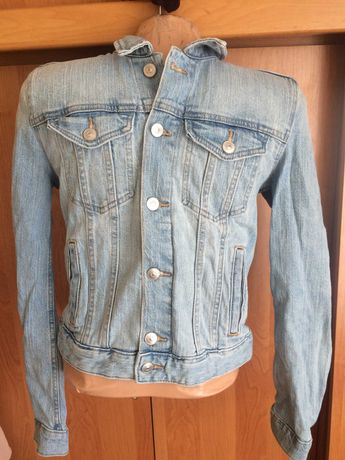 Куртка, пиджак джинсовий H&M р. 165 cм. состояние отличное