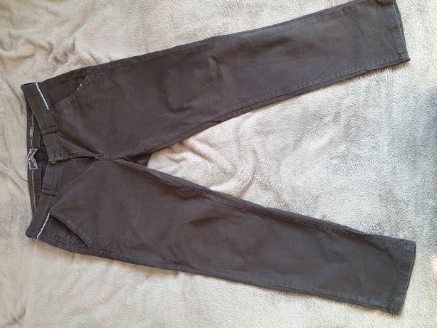 Spodnie materiałowe- slim fit -XXL- czarne- medicine