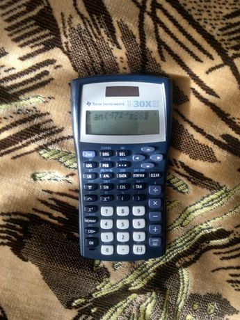 Инженерный калькулятор Texas Instruments TI-30X IIS