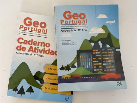 Manual e caderno de atividades de geogrfia 11° ano ASA