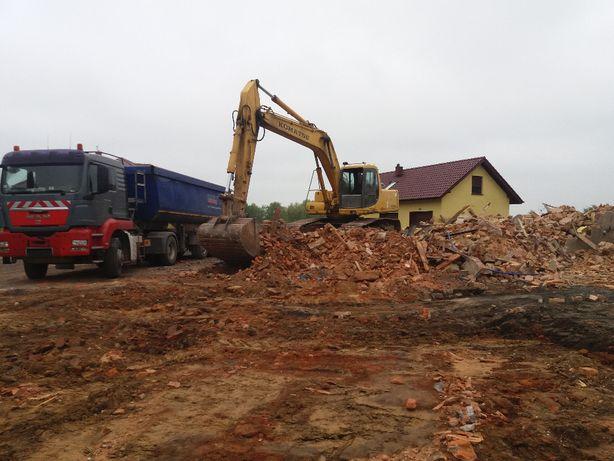 Wyburzenia i Rozbiórki- Kucie Betonu - Wywóz Gruzu