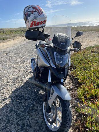 Vendo Honda Nc 750x DCT c/5000km 2016 ou troca