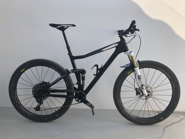 Bicicleta BTT Cube Stereo 120 HPC Race 29er XL