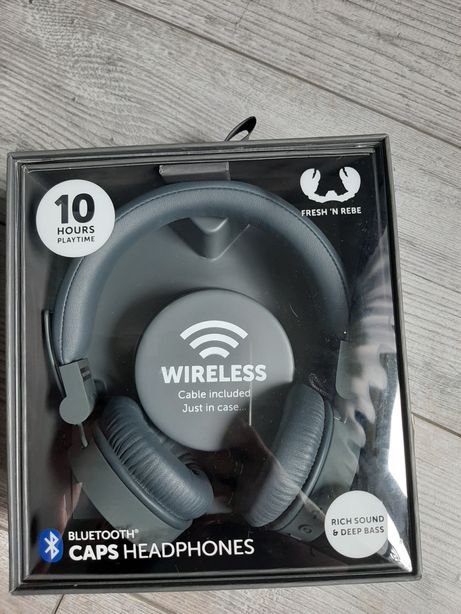 Słuchawki nauszne bezprzewodowe