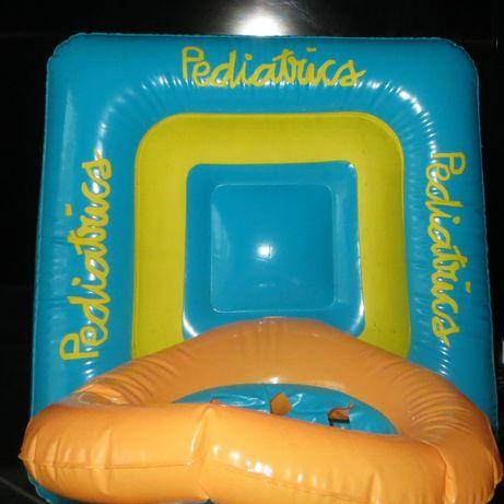 Bóia Criança Pediatrics c/ encosto e pega segurança