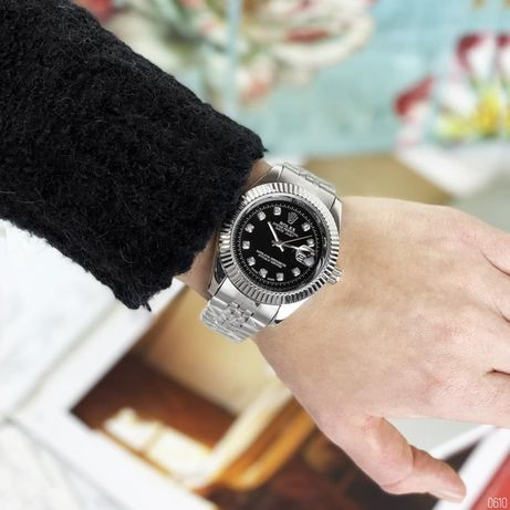 Rolex Date Just Zegarek męski + darmowe pudełko