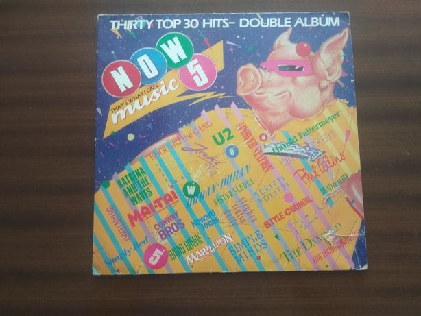 Various ‎– Now That's What I Call Music 5 2 × Vinyl 1985 ENGLAND