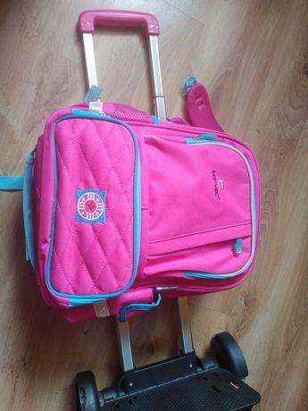 Plecak szkolny plus stelaż jak nowy Sprzedam