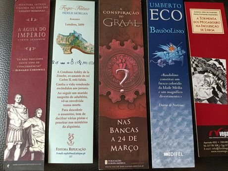 23 Marcadores de Livros