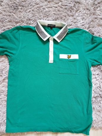 Lyle&Scott vintage koszulka polo jak nowa rozmiar L