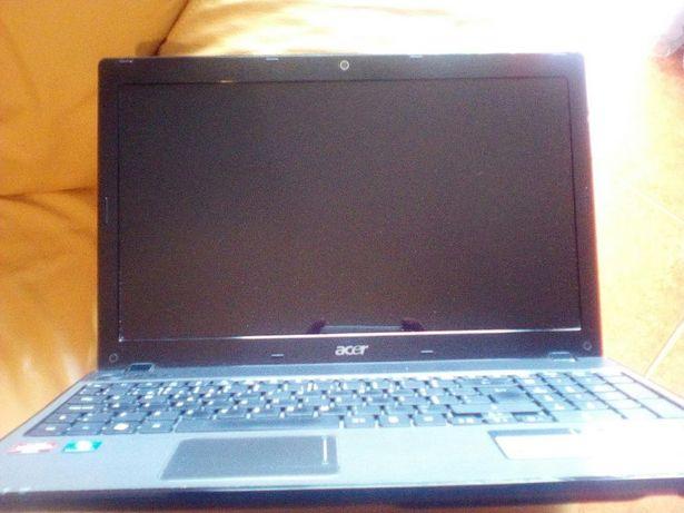 Acer 5551g como novo avaria na gráfica