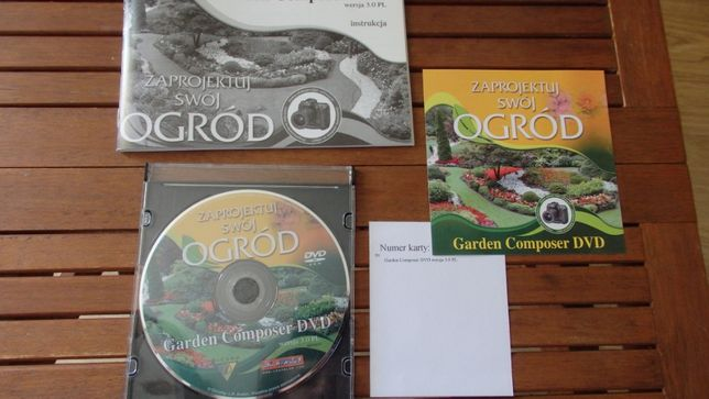 program Garden Composer DVD zaprojektuj swój ogród