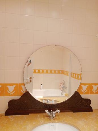 Espelho redondo antigo
