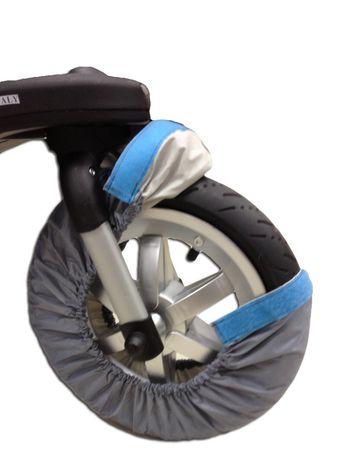 Комплектов чехлов на колеса детской коляски, защита от грязи