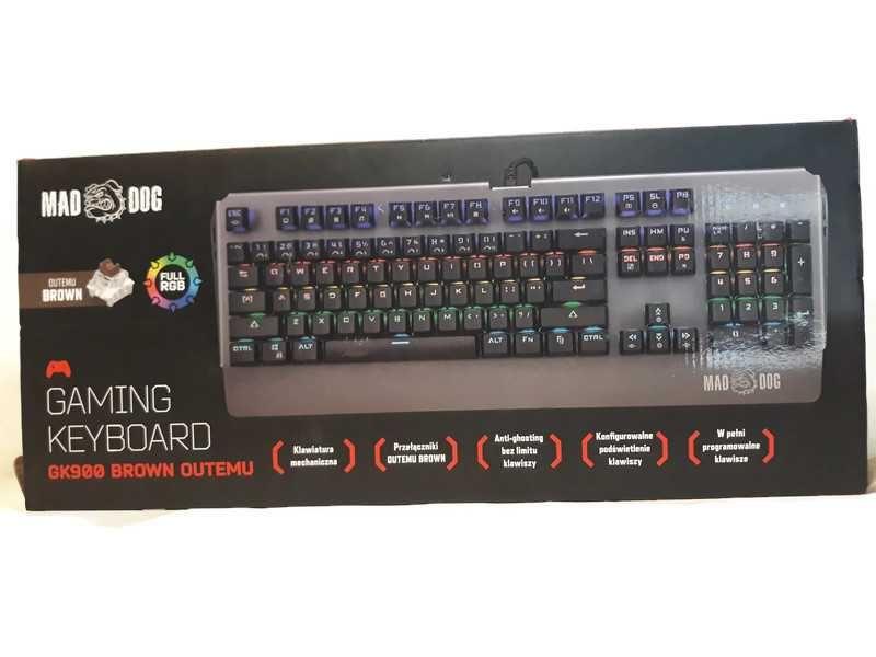 Klawiatura Gamingowa Mad Dog GM305
