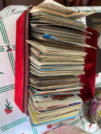 Espólio - Calendários coleção coleccao Antigos mais de 300