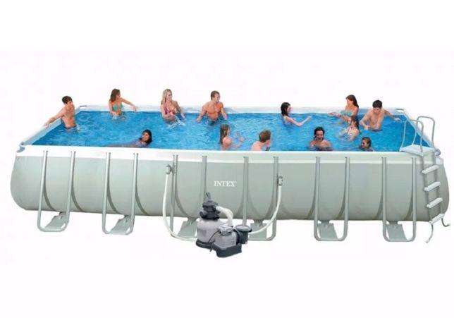 Каркасный бассейн басейн Intex 28363 732х366х132 см, Полный комплект