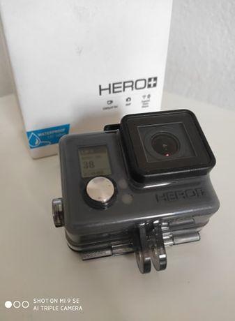 Kamera sportowa Gopro Hero+ (karta micro SD + uchwyt)