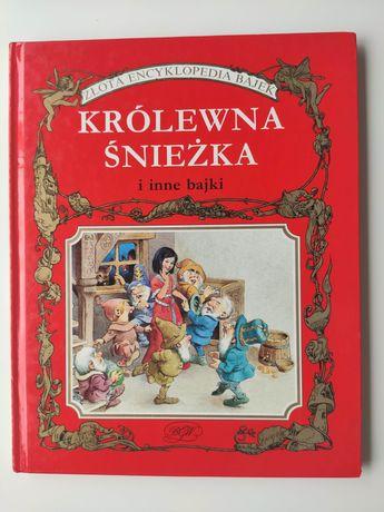 Złota encyklopedia bajek królewna Śnieżka T. Wolf