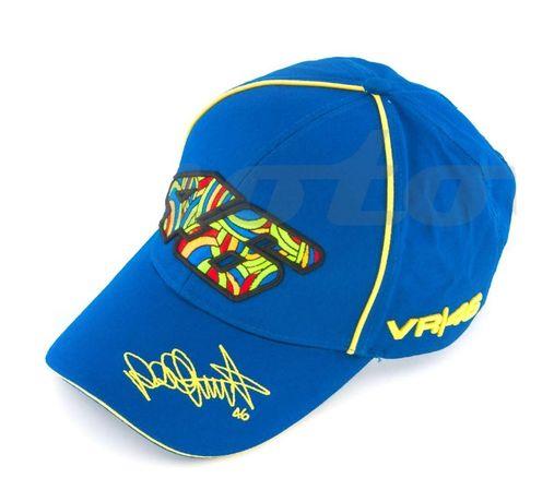 Бейсболка Валентино Росси 46 синяя