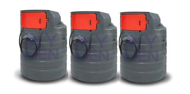 Stacjonarny zbiornik na paliwo 1500L zbiornik na rope