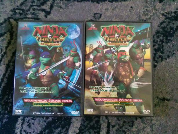 Wojownicze żółwie ninja DVD