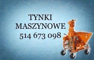 Tynki Maszynowe Tarnów Kraków Małopolska - wolne terminy
