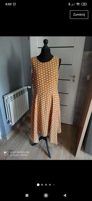 Sukienka wizytowa r. 46/48 Brody - image 1