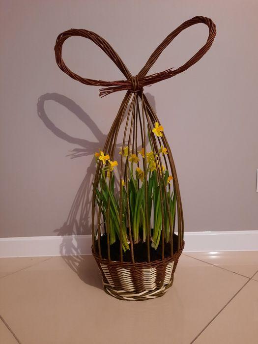 Koszyk wiklinowy doniczka Chodzież - image 1
