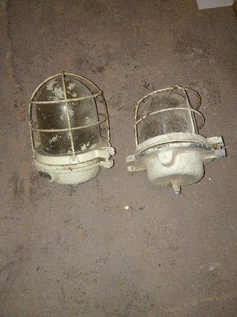Dwie lampy lata 50