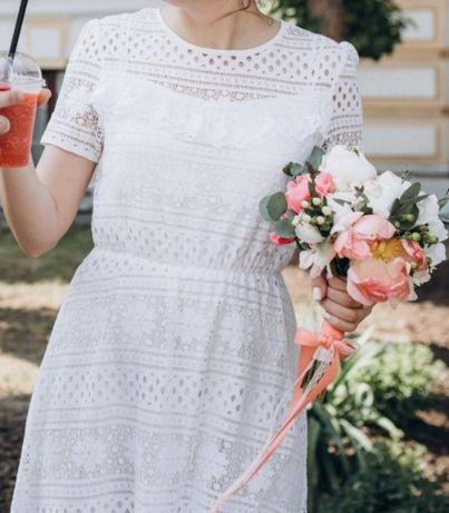 Платье для росписи, свадебное платье