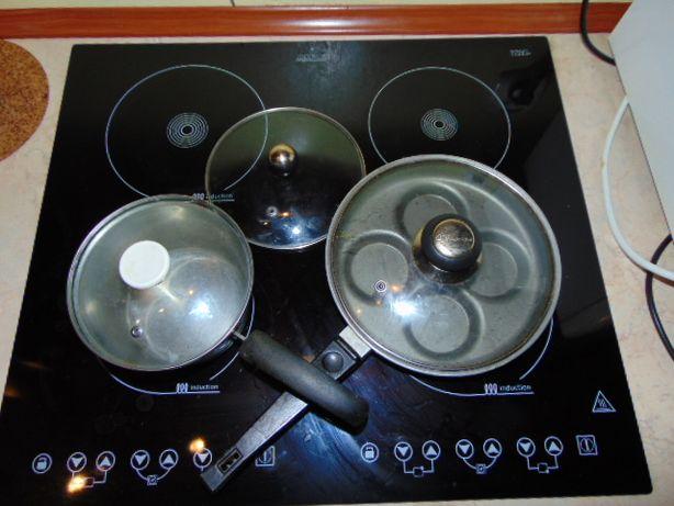 Pokrywy Magic Chef żaroodporne,różne rozmiary do patelni,garnkow...itp