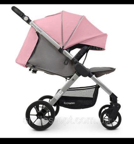 El Camino коляска розовая