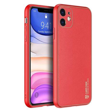 Capa Silicone Dux Ducis Elegante Yolo Iphone 12 Mini - Vermelho